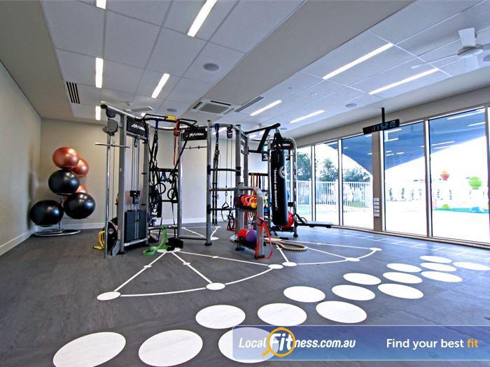 Brunswick Baths HIIT Melbourne  | The LifeFitness Synergy 360 Functional Training unit.