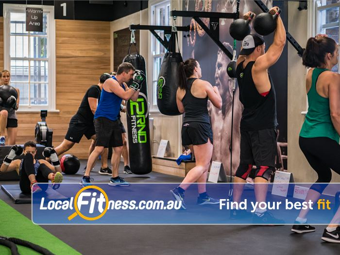 12 Round Fitness Gym Broadbeach    In and out in 12 3 minute rounds