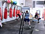 Boxing, Battleropes, TRX, fitballs and more.