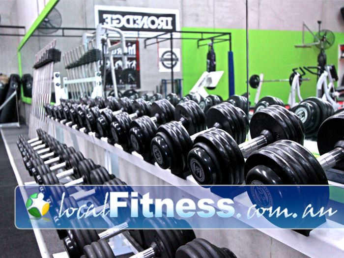 Urban Gym Gym Endeavour Hills  | Fully equipped free-weights training area.