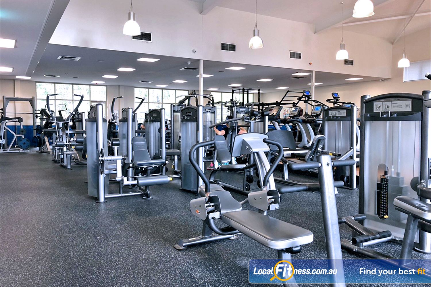 Albany Creek Leisure Centre Near Eatons Hill Our Albany Creek gym inc. state of the art equipment from Life Fitness.