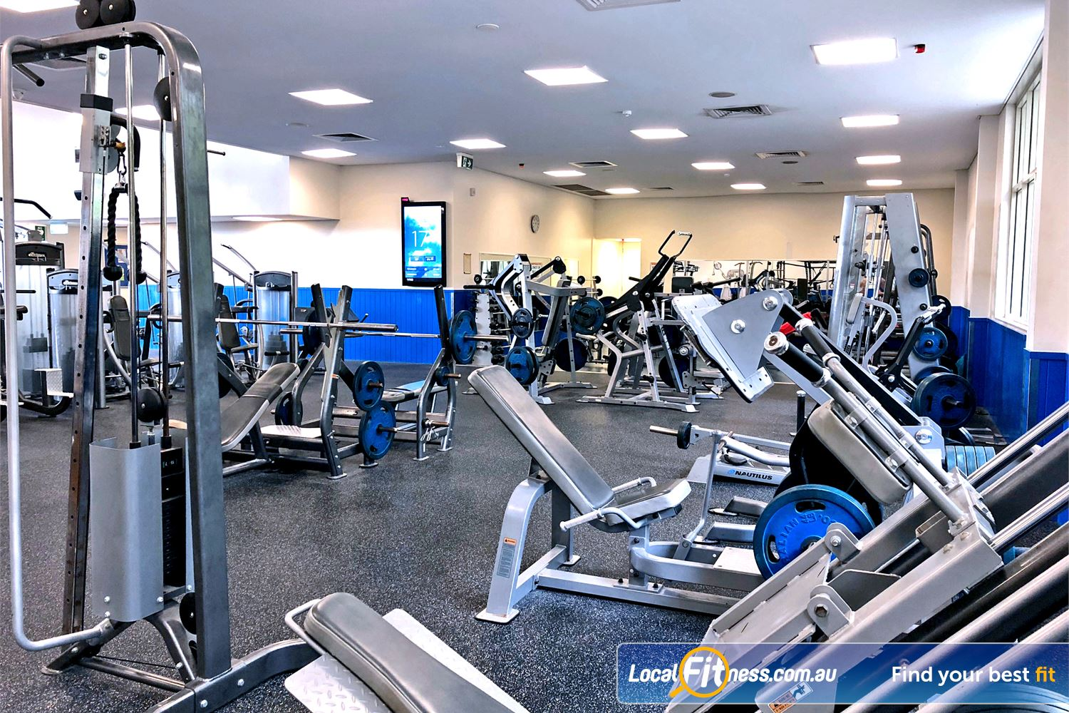 Albany Creek Leisure Centre Albany Creek Dumbbells, barbells, plate-loading machines and more.