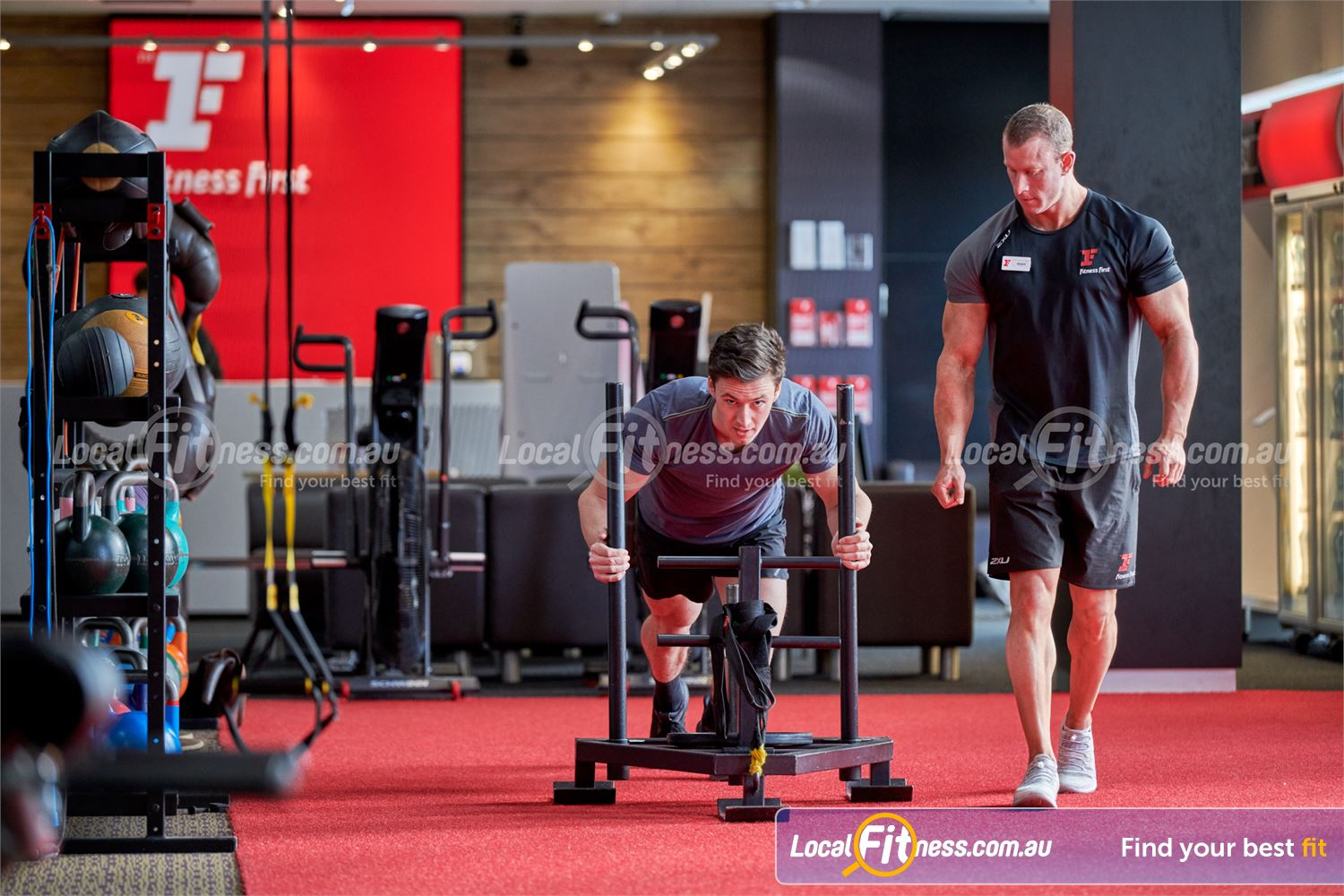 Fitness First Carlingford Get a functional cardio workout at Fitness First Carlingford gym.