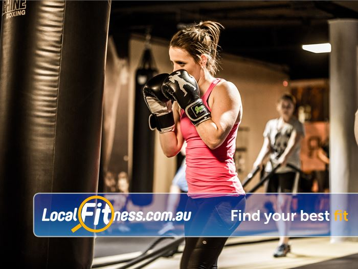 12 Round Fitness Near Little River Combining 3-minute boxing rounds to really give you a workout.