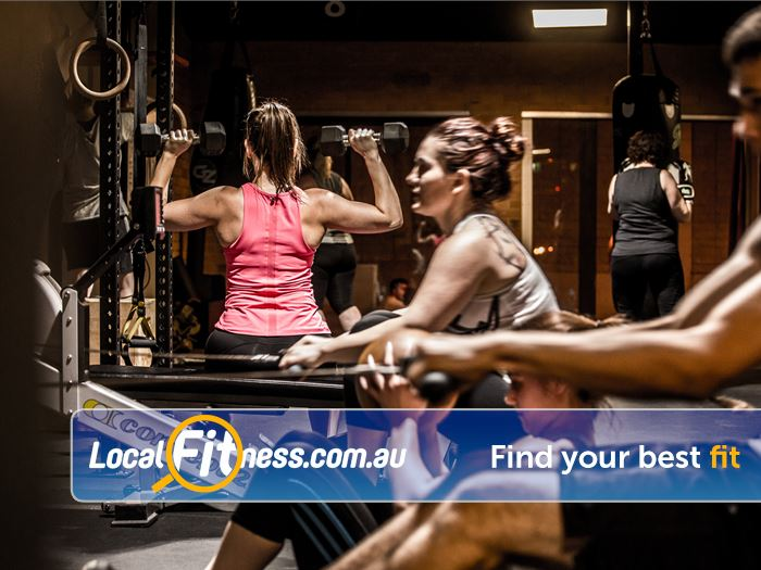 12 Round Fitness Near Eynesbury Our group sessions are a circuit of strength and conditioning exercise.