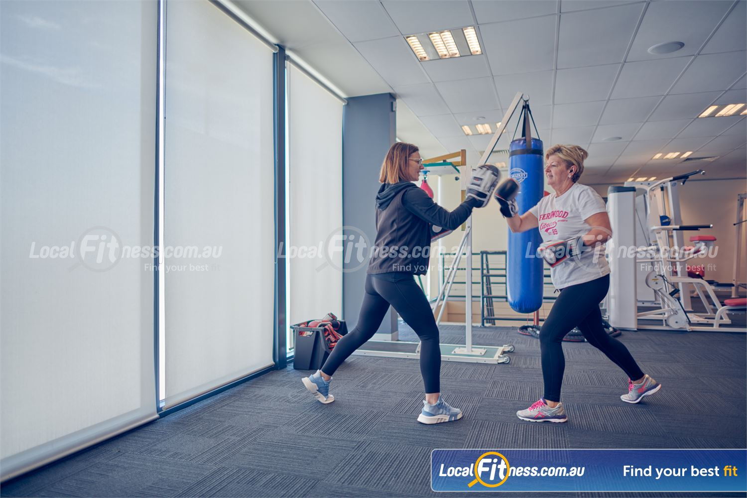 Fernwood Fitness Near Ravenhall Our Cairnlea personal trainers can incorporate boxing into your workout.
