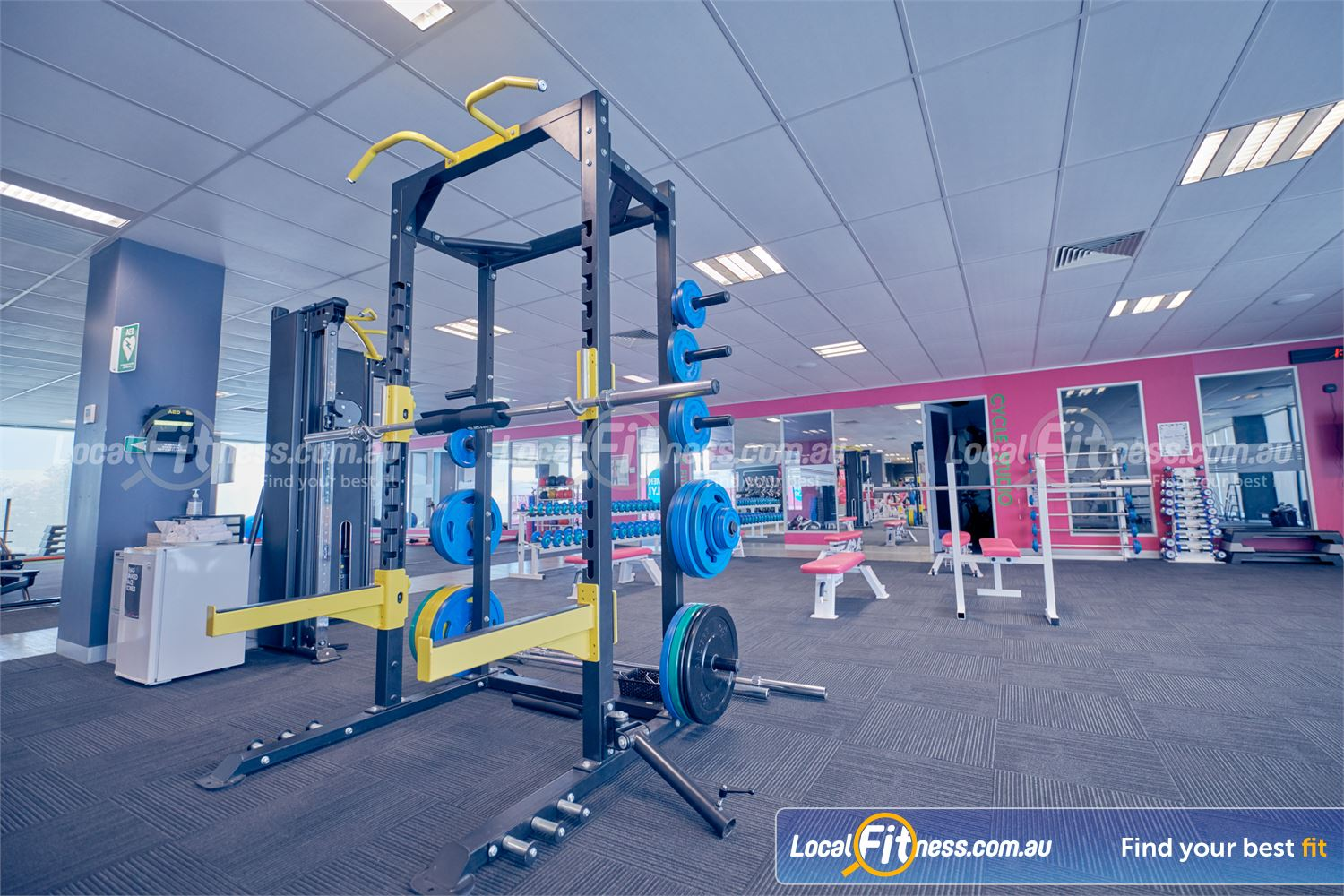 Fernwood Fitness Cairnlea Get into strength training for women in Cairnlea with our heavy duty power rack.