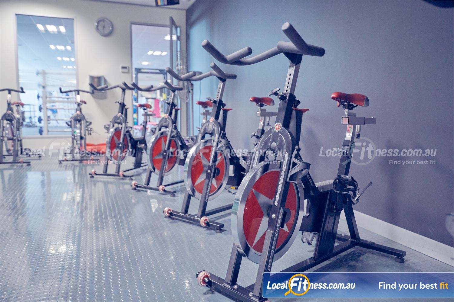 Fernwood Fitness Near Deer Park The dedicated Cairnlea spin cycle studio.
