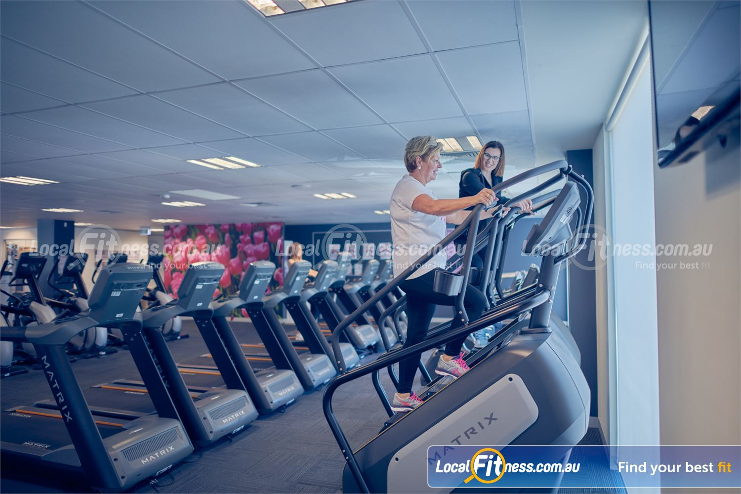 Fernwood Fitness Near Derrimut Full range of cardio include treadmills, climbmills and more.