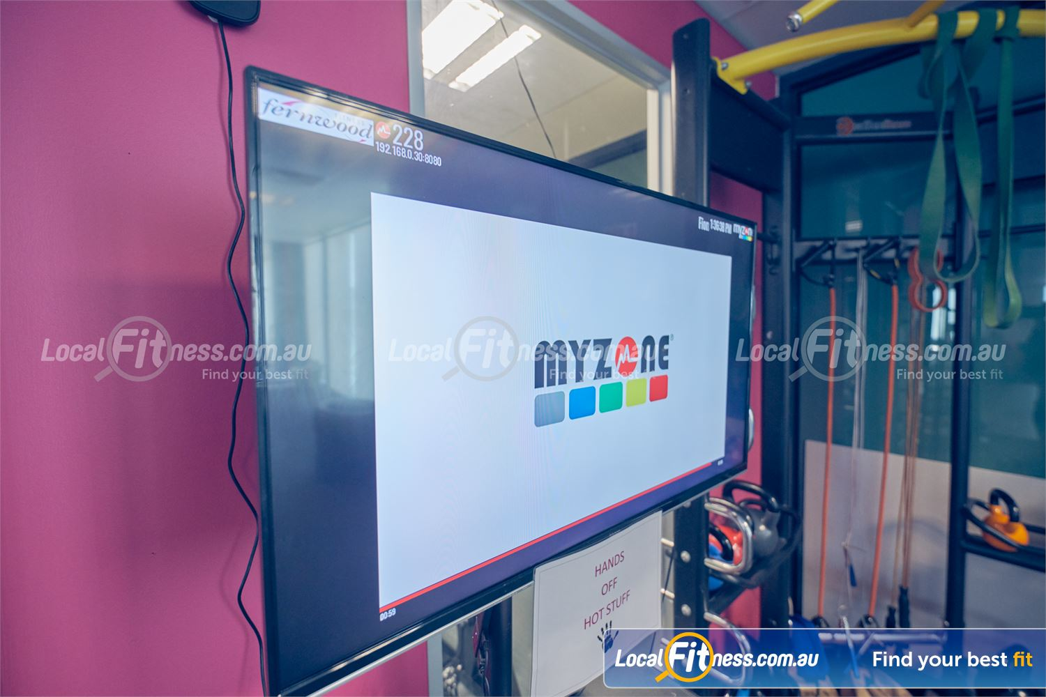 Fernwood Fitness Cairnlea Track your effort on our Myzone screens at Fernwood Cairnlea.