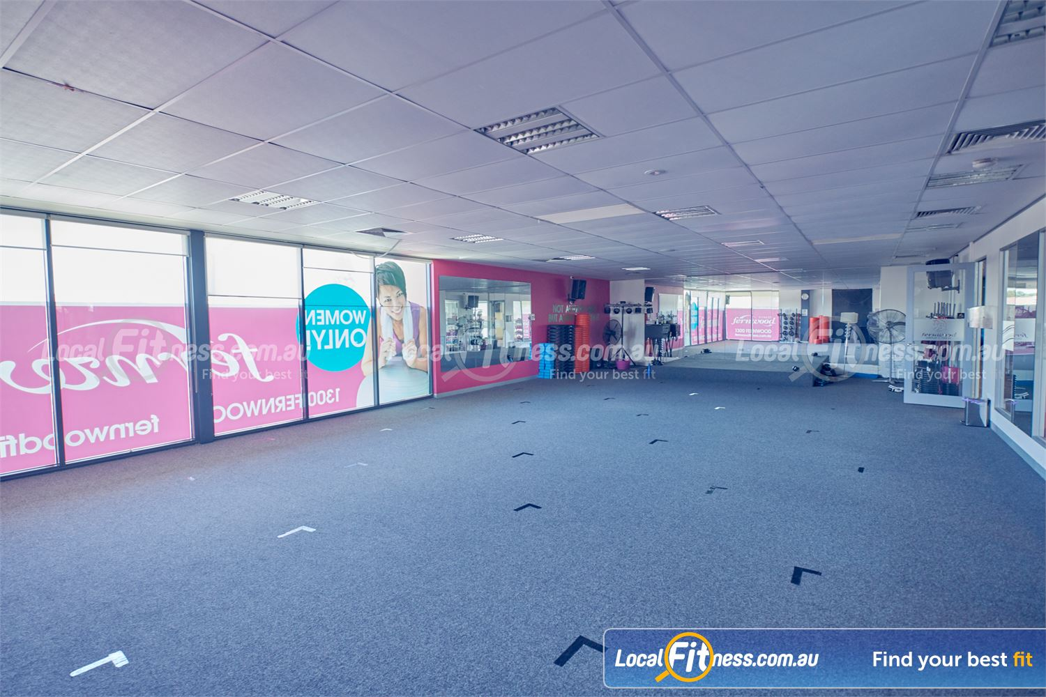 Fernwood Fitness Cairnlea Dedicated Cairnlea group fitness studio with over 50 classes per week.