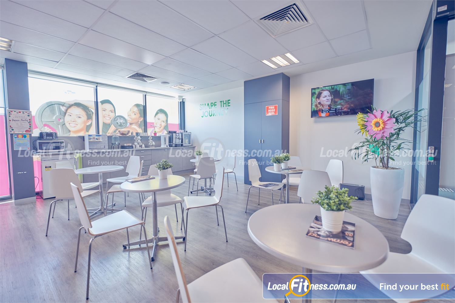 Fernwood Fitness Near Ravenhall Share the journey with us in our Fernwood Cairnlea members lounge.