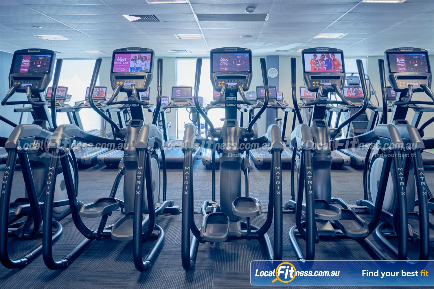 Fernwood Fitness Cairnlea Our Cairnlea women's gym includes state of the art cardio with personal entertainment screens.
