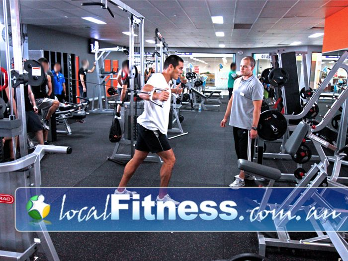 Fit n Fast Near Runaway Bay Gold Coast gym instructors can help you with your strength training.