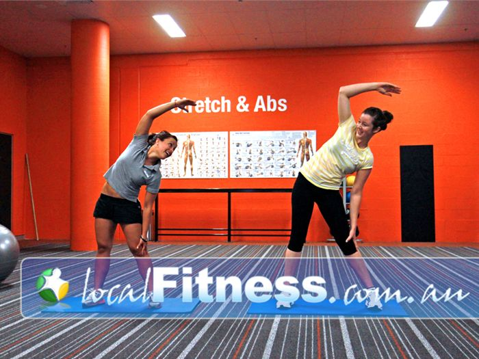 Fit n Fast Biggera Waters Our Biggera Waters gym provides dedicated areas for stretching and abs.