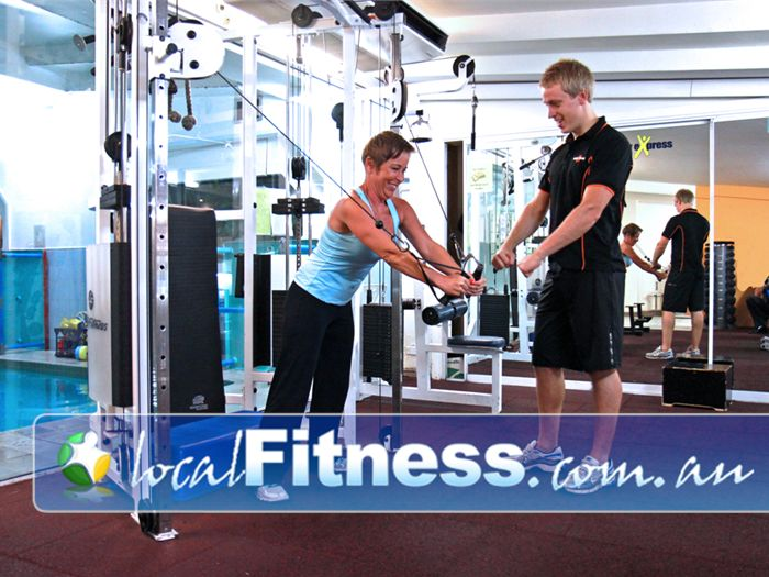 Body Express Gym Bondi Beach Comprehensive range of equipment for beginners up to advanced in our Bondi gym.