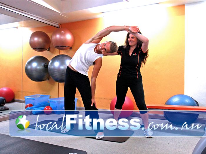 Body Express Gym Near Tamarama Our Bondi Beach gym personal trainers will incorporate stretching into your routine.