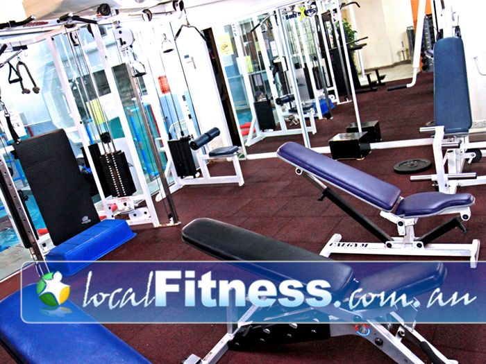 Body Express Gym Bondi Beach Benches, steppers, dumbbells and more in our Bondi gym.