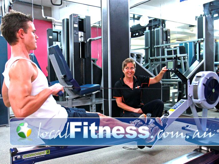 Body Express Gym Near North Bondi Vary your workout with indoor rowing in our Bondi Beach gym.