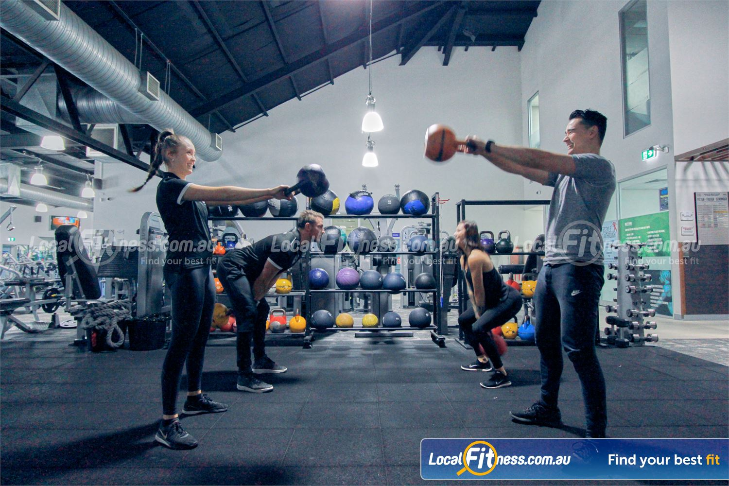 Goodlife Health Clubs Near Lilydale Get into functional training in our Mooroolbark HIIT gym.