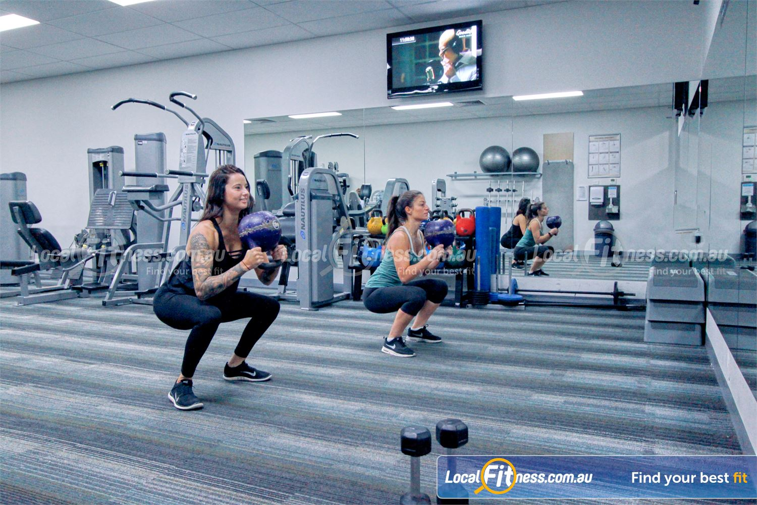 Goodlife Health Clubs Near Montrose The Mooroolbark ladies only gym.