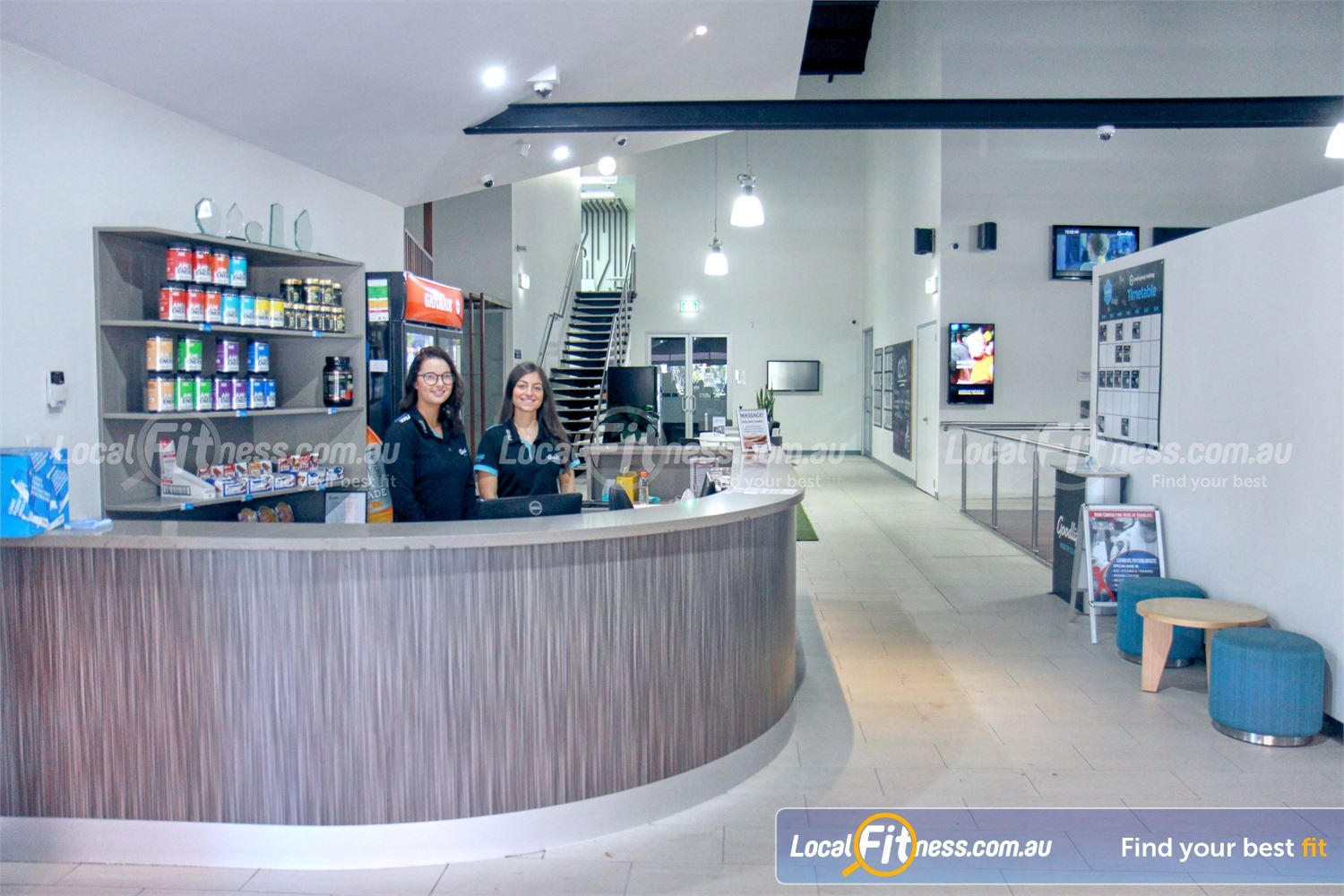 Goodlife Health Clubs Mooroolbark Our team are ready to welcome you to Goodlife Mooroolbark.