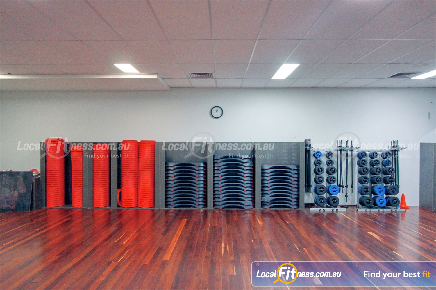 Goodlife Health Clubs Mooroolbark Fully equipped for all your favourite Les Mills classes inc. BodyPUMP.