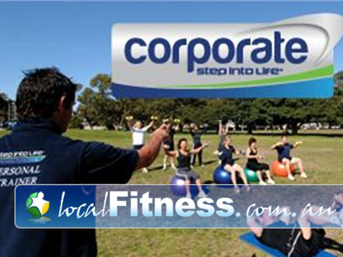 Step into Life Near Box Hill North Box Hill corporate fitness training can be exclusively run for your business to improve productivity.