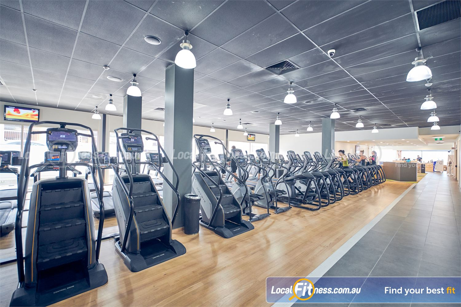 Goodlife Health Clubs Knox City Wantirna South Our Wantirna South gym includes a state of the art cardio area.