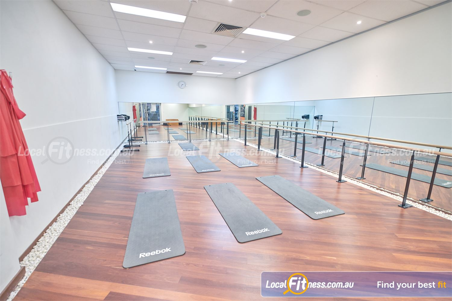 Goodlife Health Clubs Knox City Near Knoxfield Dedicated mind-body studio for our Wantirna South Yoga, Barre and Pilates classes.