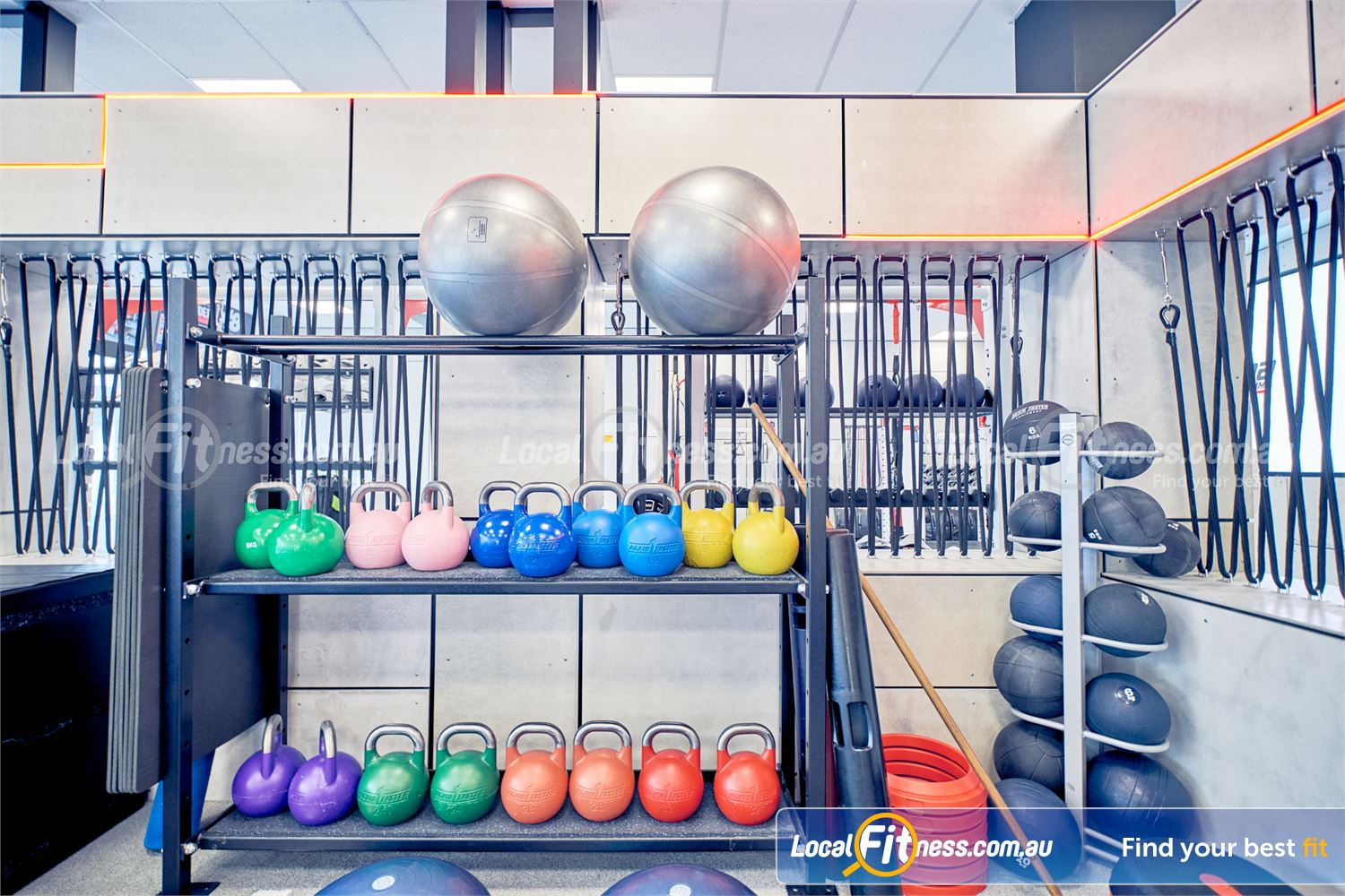 Goodlife Health Clubs Knox City Near Knoxfield Our functional training area is fully equipped with medicine balls, kettlebells and more.