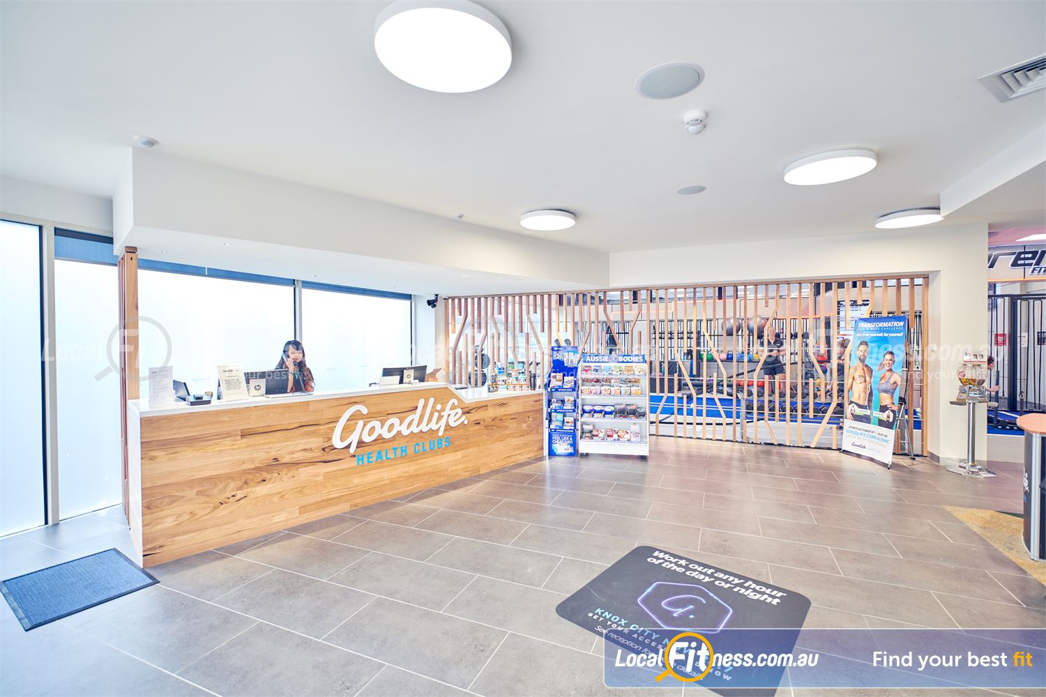 Goodlife Health Clubs Knox City Wantirna South Our Knox City gym team will welcome you when you arrive.