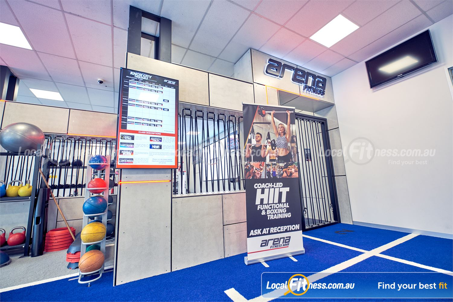 Goodlife Health Clubs Knox City Near Scoresby Coach-led HIIT and functional training classes in Wantirna South.