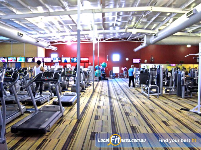 Goodlife Health Clubs Gym Bentley  | Welcome the spacious Goodlife Cannington gym.