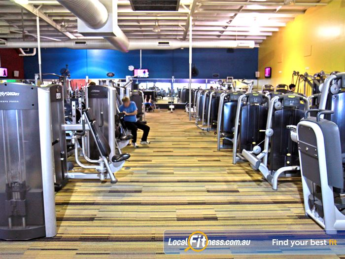 Goodlife Health Clubs Gym Bentley  | State of the art equipment from Technogym in