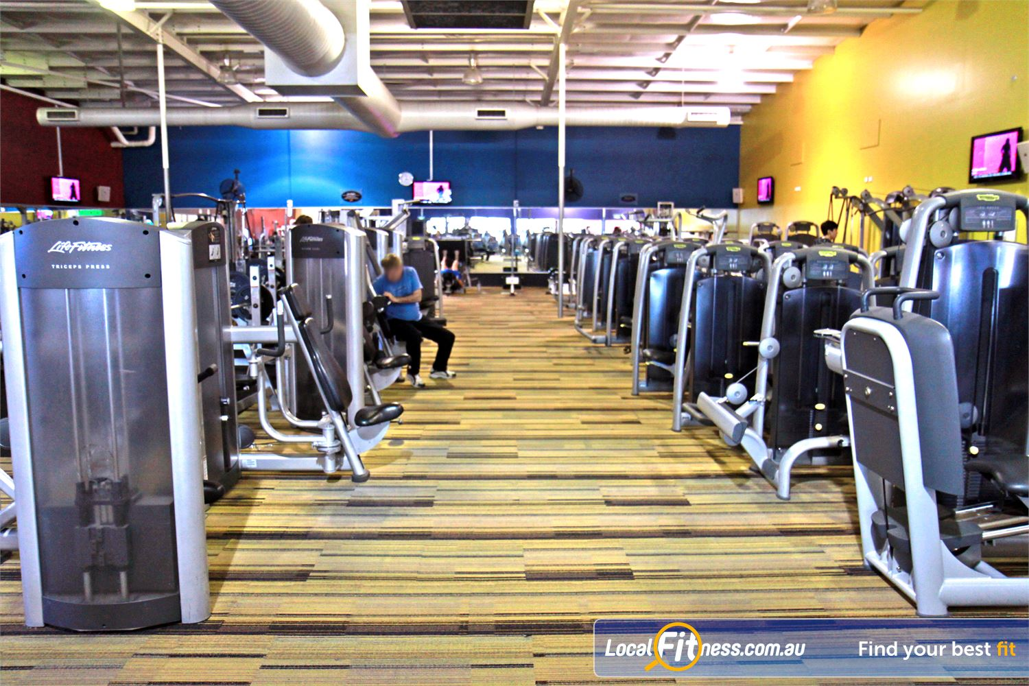 Goodlife Health Clubs Cannington State of the art equipment from Technogym in our Cannington gym.