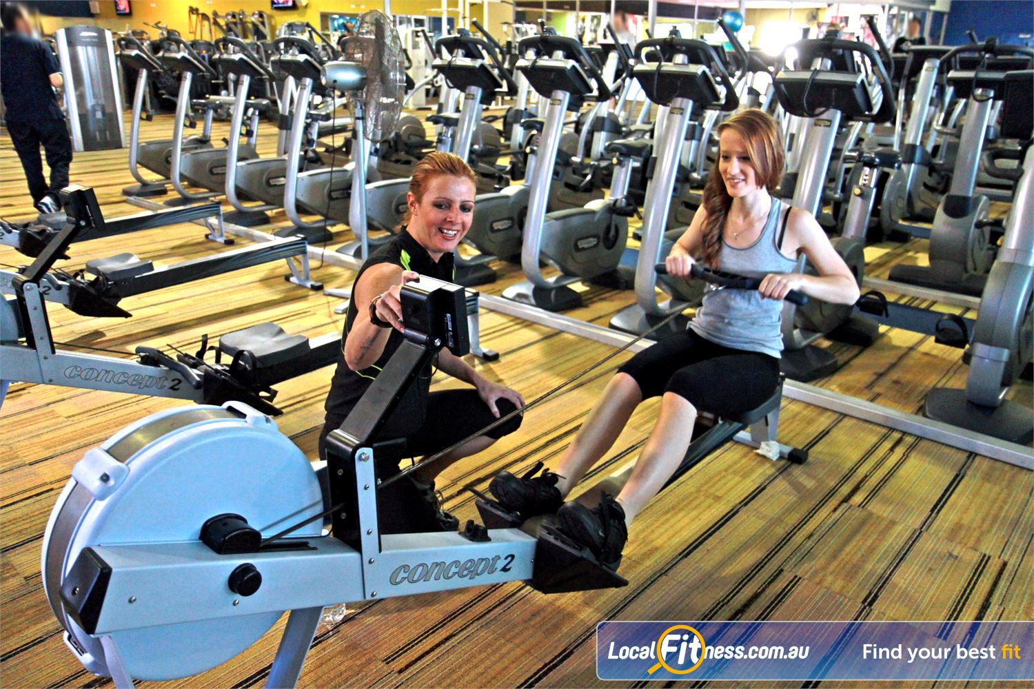 Goodlife Health Clubs Cannington Goodlife Cannington gym provides a range of cardio weapons: including indoor rowing.