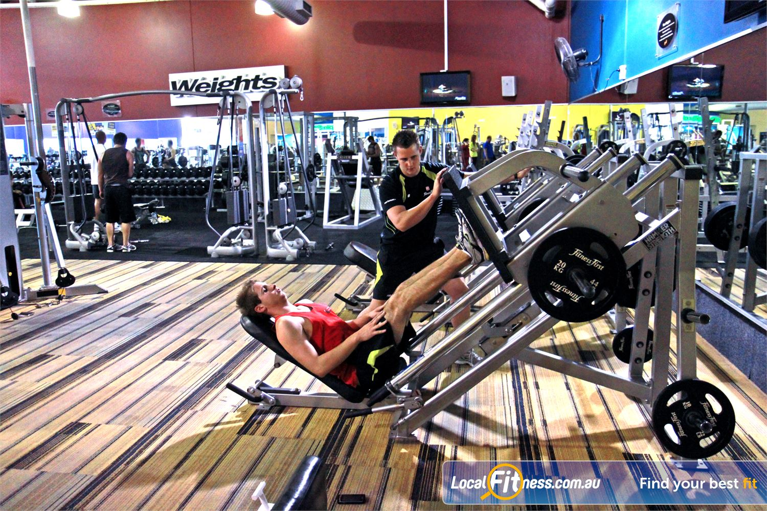 Goodlife Health Clubs Near Bentley Our Cannington gym offers many gym floor programs with qualified staff.