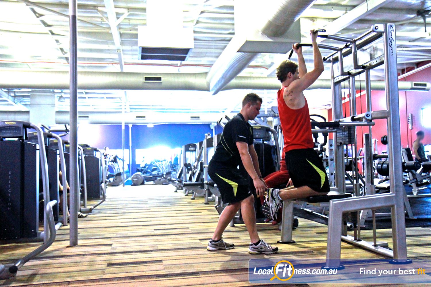 Goodlife Health Clubs Cannington Our Cannington gym offers many gym floor programs with qualified staff.
