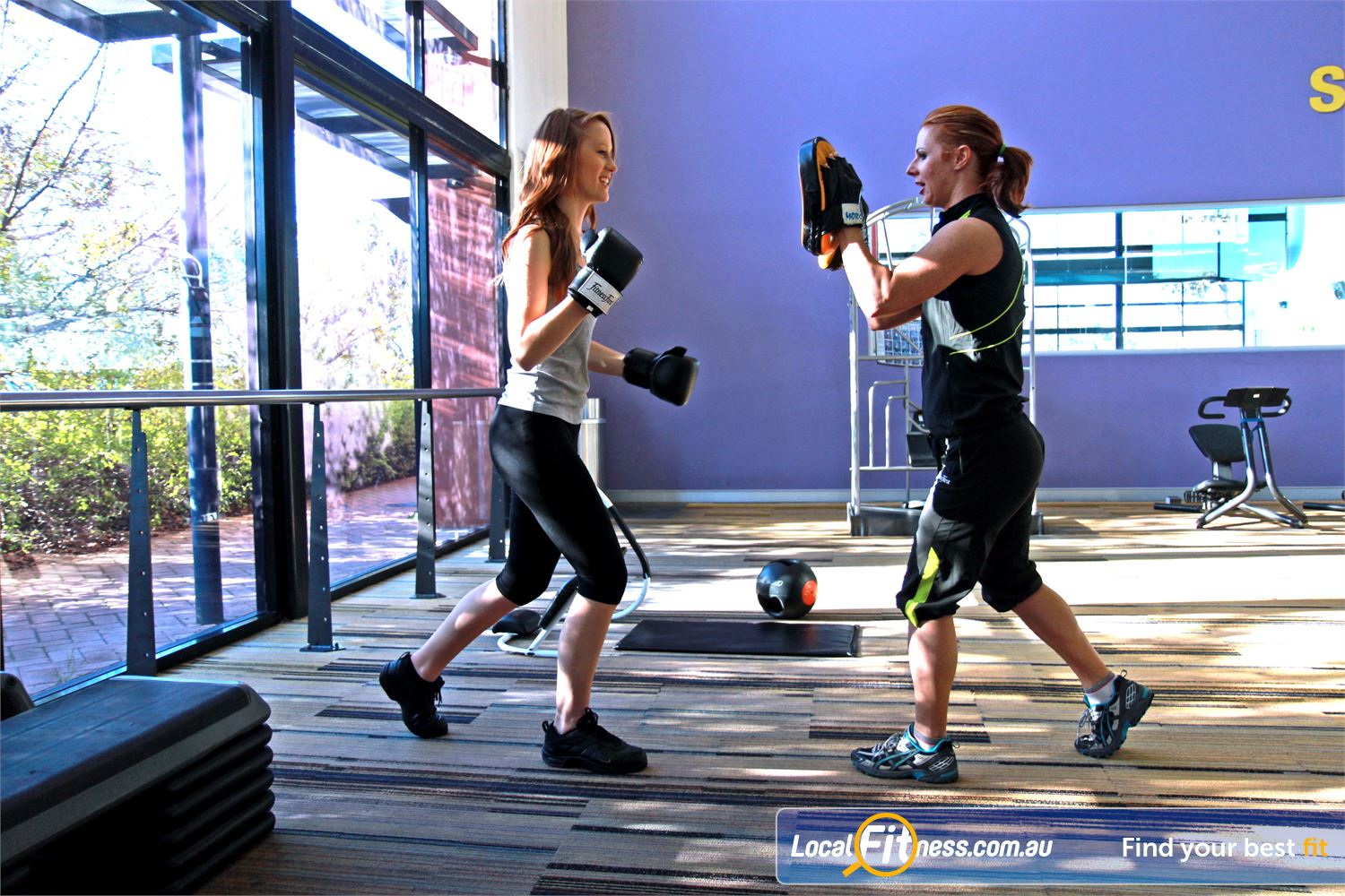 Goodlife Health Clubs Cannington Cannington personal trainers can vary your workouts to include cardio boxing.