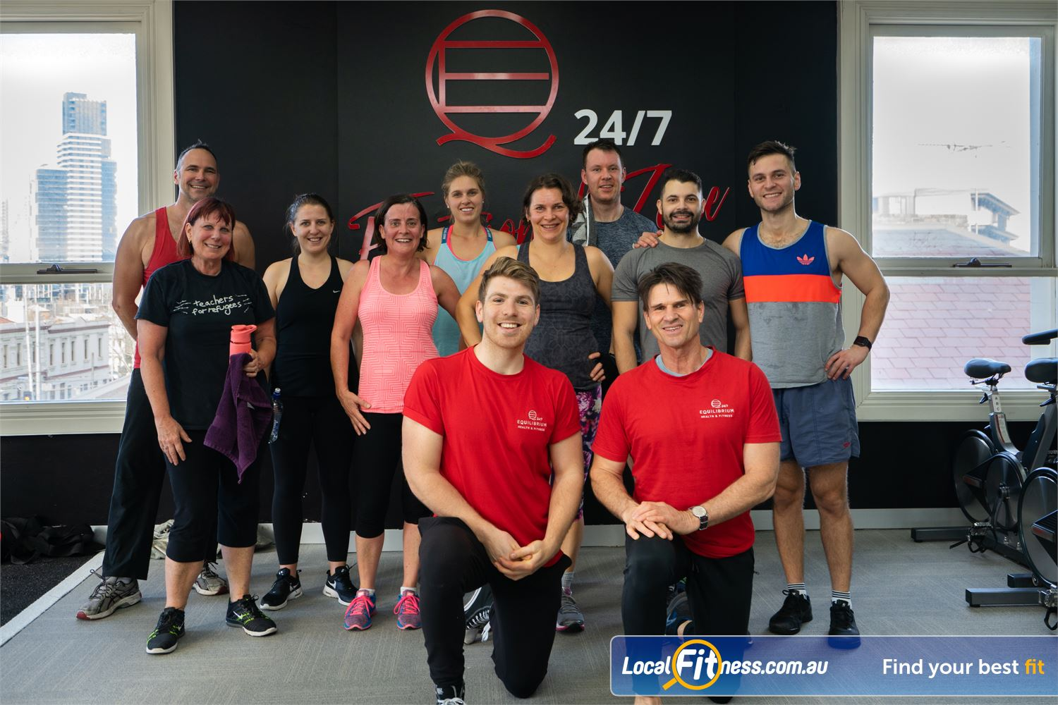 Equilibrium Health & Fitness 24/7 North Melbourne Join the North Melbourne functional training family.