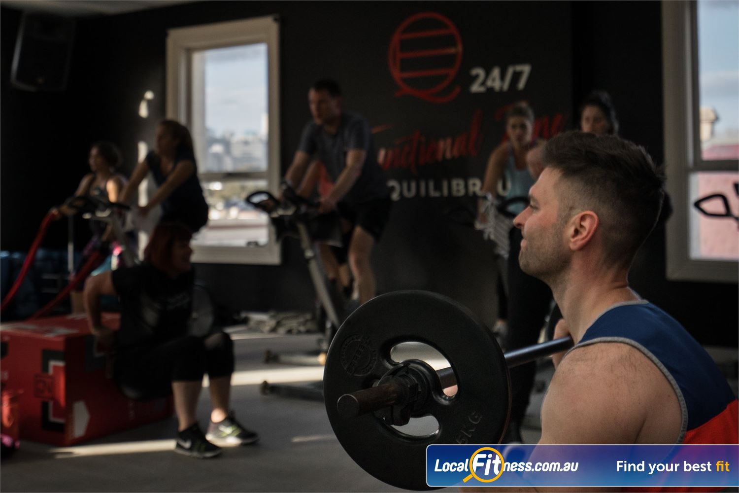 Equilibrium Health & Fitness 24/7 Near Carlton Our unique classes enhance results and promote a variety of training.