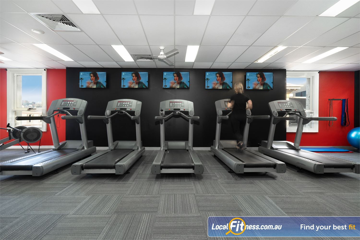 Equilibrium Health & Fitness 24/7 Near Carlton North Our North Melbourne 24/7 Gym includes state of the art cardio machines