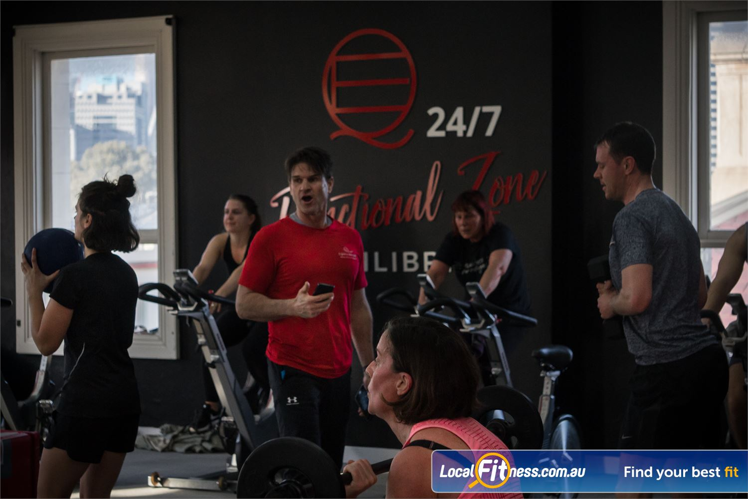 Equilibrium Health & Fitness 24/7 North Melbourne Experience our range of revolutionary North Melbourne HIIT classes.