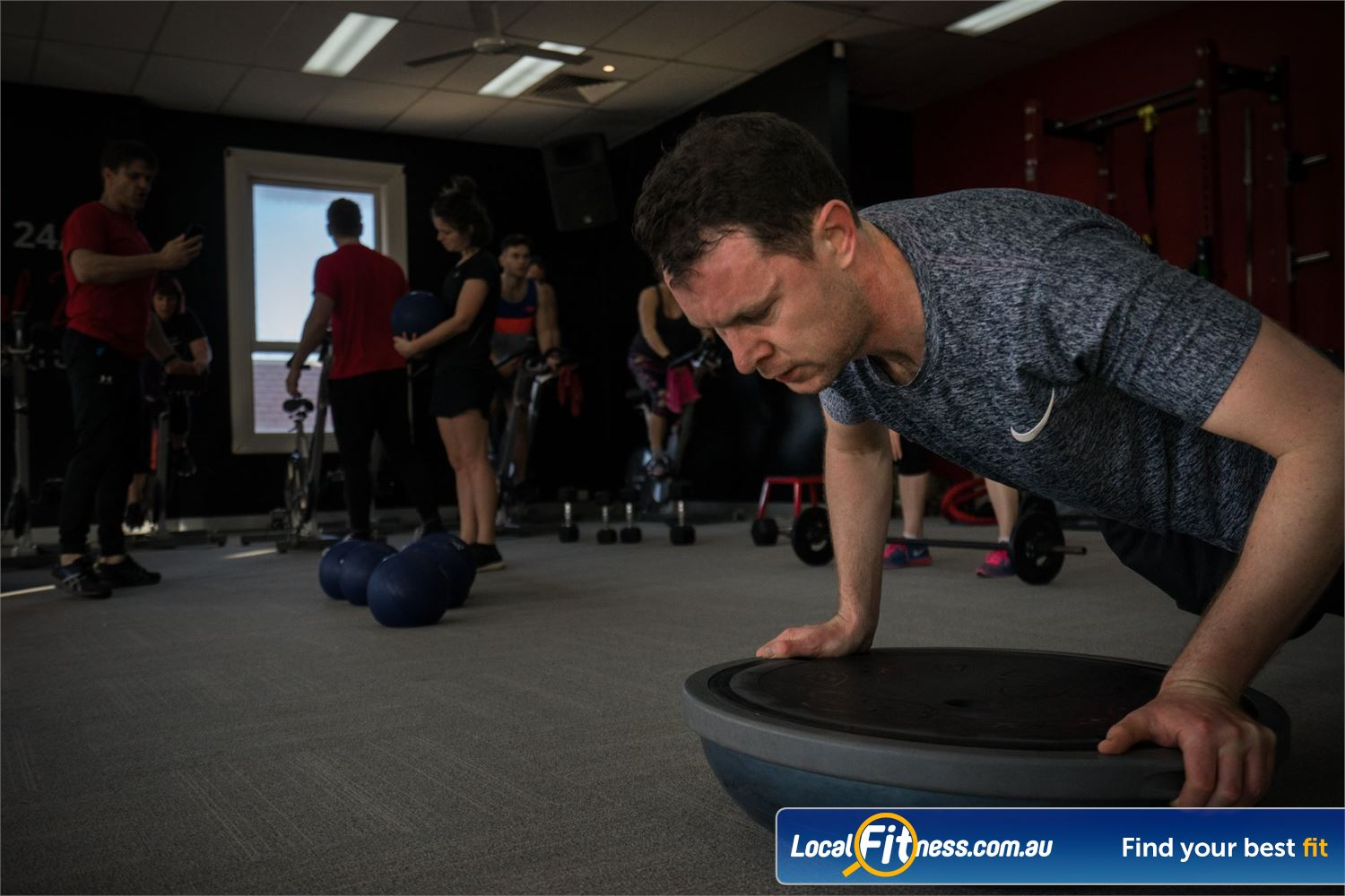 Equilibrium Health & Fitness 24/7 Near Carlton Join our Equilibrium 24/7 North Melbourne gym community
