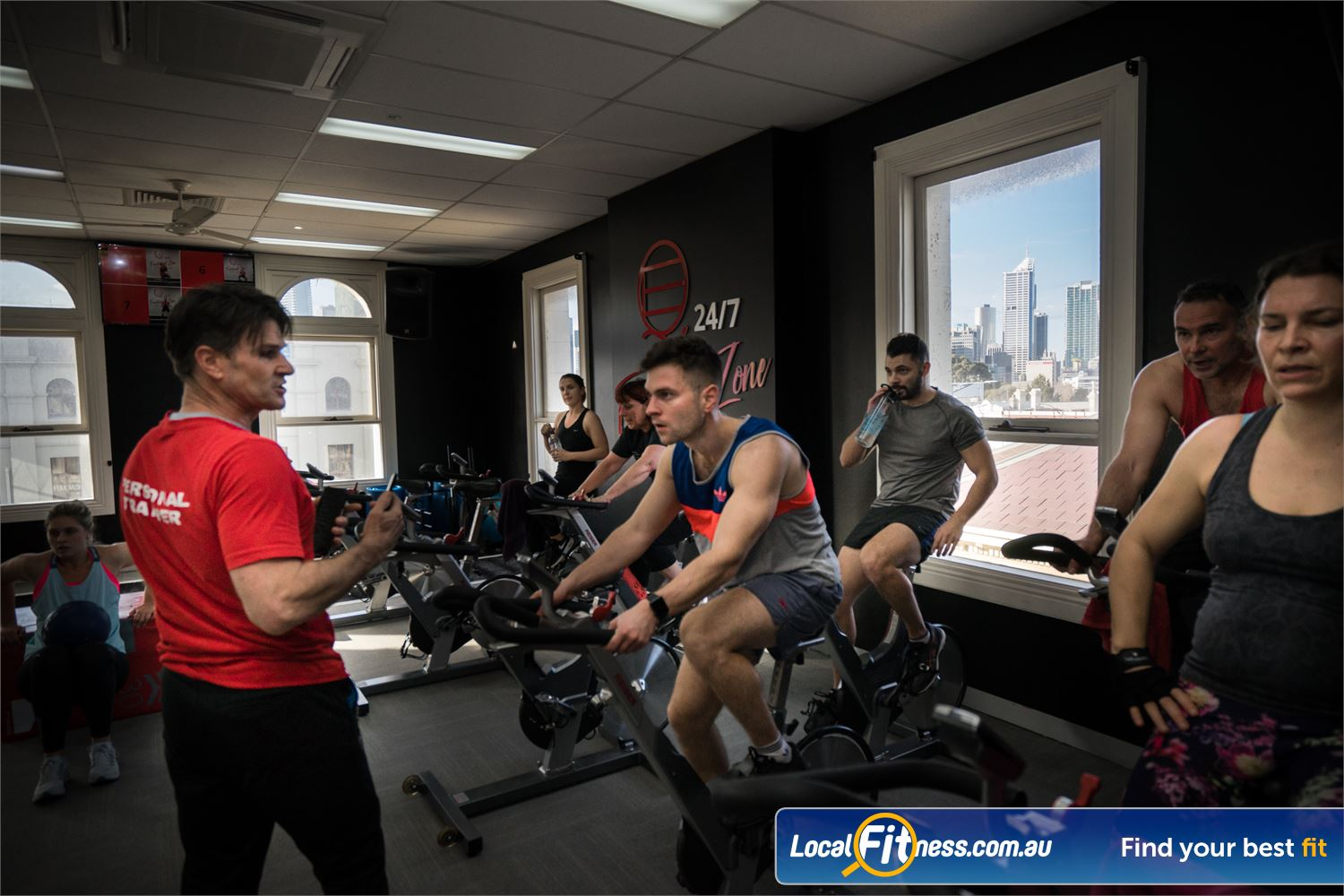 Equilibrium Health & Fitness 24/7 North Melbourne Our North Melbourne cycle classes is a great way to burn calories fast.
