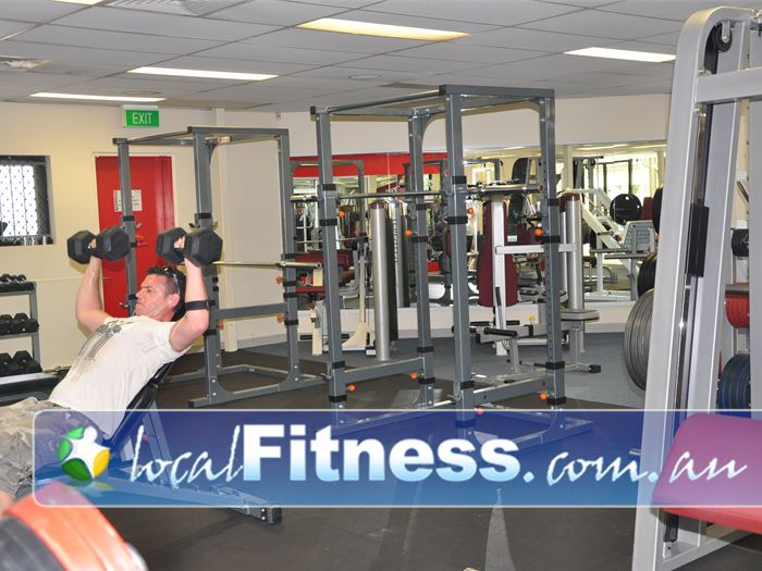Fitcity24:7 Woolloongabba Our Woolloongabba gym provides an extensive range of free-weights.