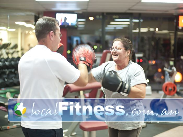 Fitcity24:7 Woolloongabba Woolloongabba personal trainers can give you on-going support.