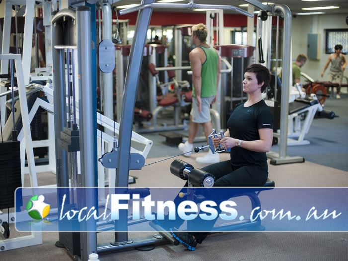 Fitcity24:7 Woolloongabba Our Woolloongabba gym is fully equipped for strength training.