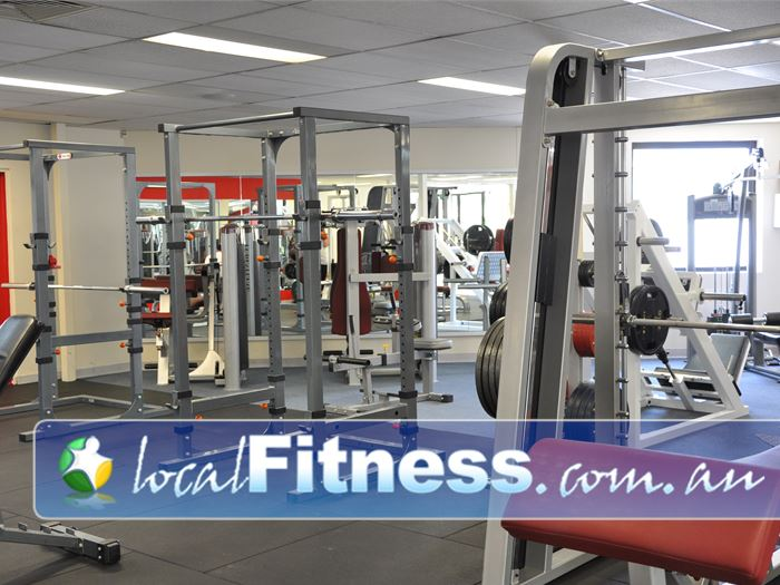 Fitcity24:7 Woolloongabba Heavy duty training racks for our members.